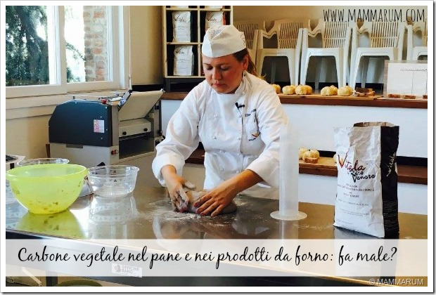 Carbone vegetale nel pane e nei prodotti da forno fa male