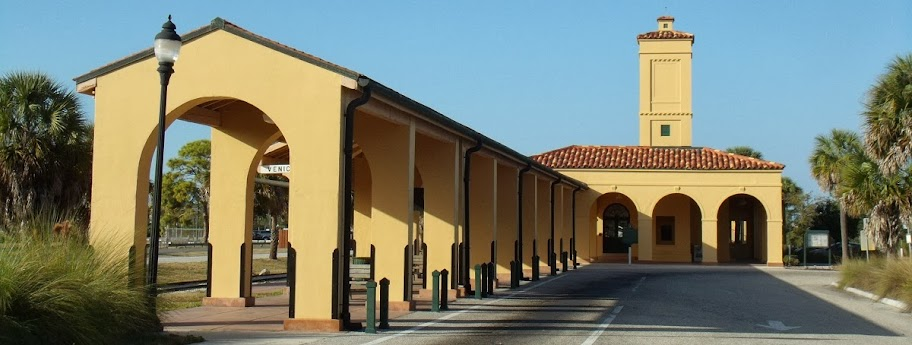 Old Railroad Station in Venice