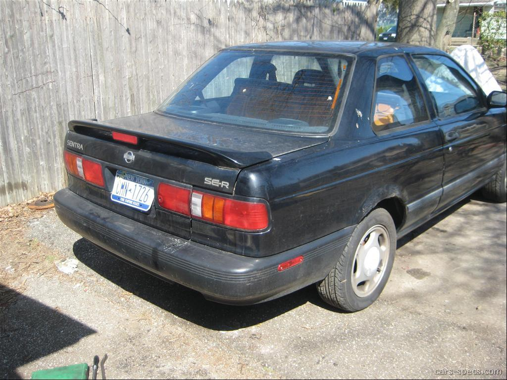 1994 nissan sentra se-r specifications, pictures, prices