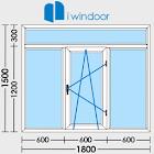 Diseñador de puerta y ventana icon