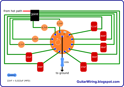 Way Rotary Switch Wiring Guitar Electronics – Rotator Switch Wiring Diagram