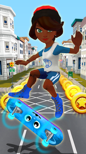 Skater Rush - Endless Skateboard Game 1.1.7 screenshots 1