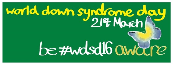 World Down Syndrome Day - Twitter Header (Mark Jones)