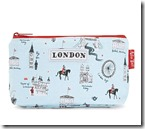 London small cosmetics bag