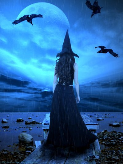 A Witch On A Seaside, Pretty Witches