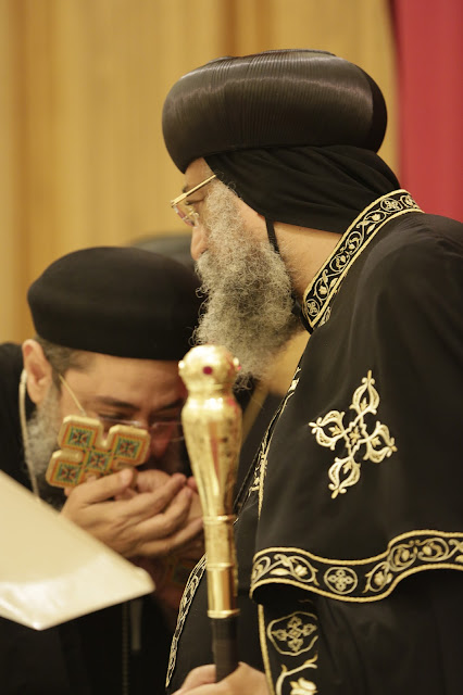 His Holiness Pope Tawadros II visit to St. Mark LA - _09A9067.JPG
