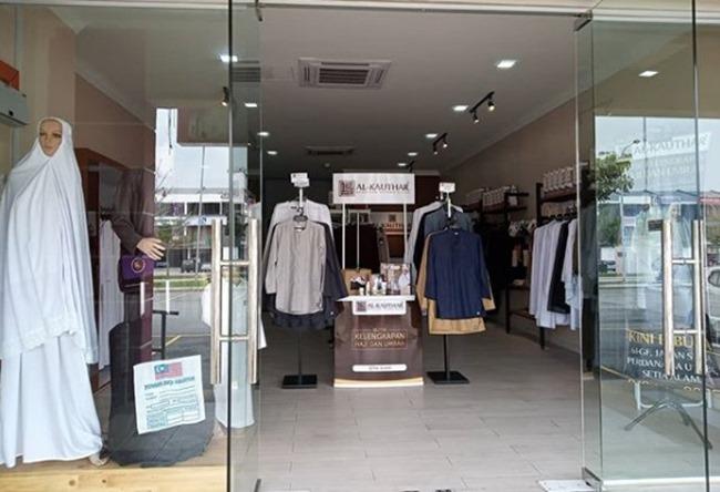 butik alkauthar di setia alam 2018
