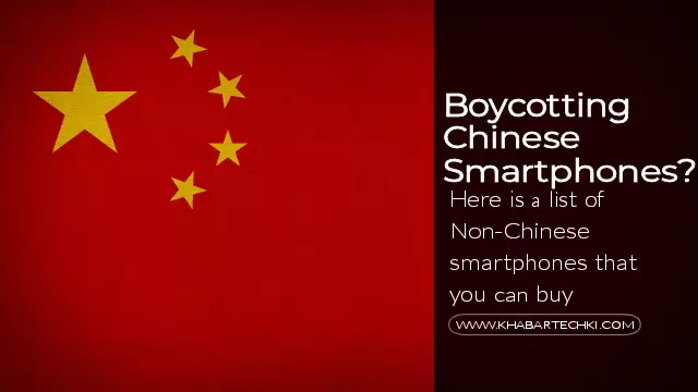 Boycotting Chinese Smartphones? here is a list of Non-Chinese smartphones that you can buy