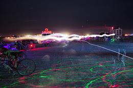 15 sec exposure of playa night life