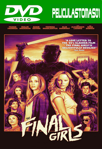La Última chica (The Final Girls) (2015) DVDRip