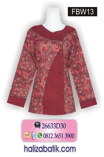 desain baju batik modern, busana batik wanita, busana batik