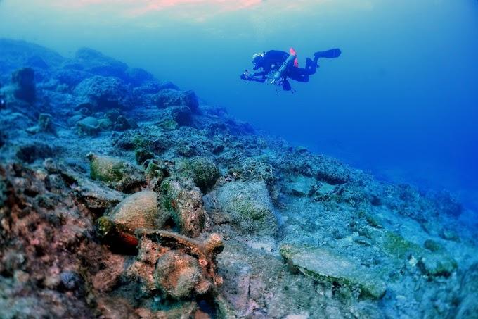 Αξιόλογα νέα ευρήματα στην θάλασσα της Κάσου