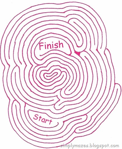 Maze Number 60: Round and Round We Go