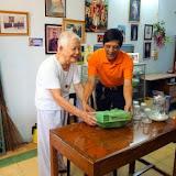 Ban Caritas thăm quý cha hưu 2015
