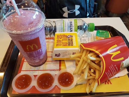 Last meal in Penang Airport, McDonalds