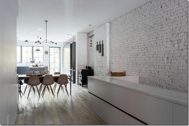 Il fascino discreto del bianco e grigio case e interni for Case in stile new england