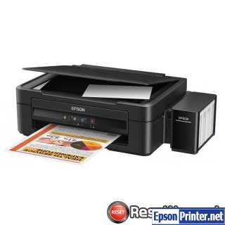 Reset Epson L222 ink pads are at the end of their service life