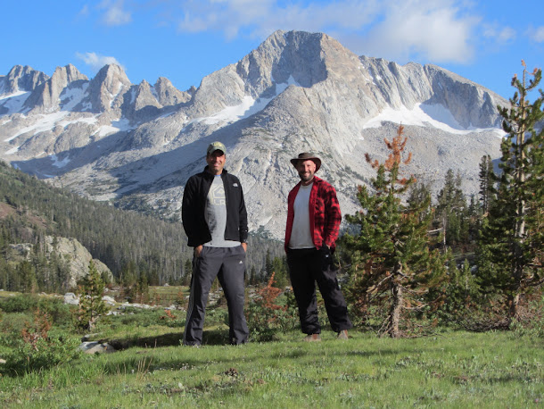 Standing in Virginia Canyon in front of Shepherd Crest