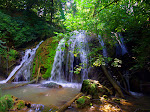 Blue Ridge Mountains waterfall, Virginia