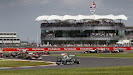 Rosberg leads after safety car period