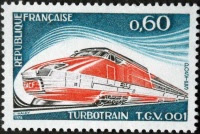 Inauguration TGV septembre 1981