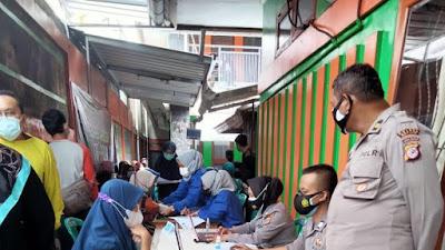 Wujudkan Herd Imunity 70% Polres Banjar Bersama PKU Muhammadiyah Gercep Pelaksanaan Vaksinasi