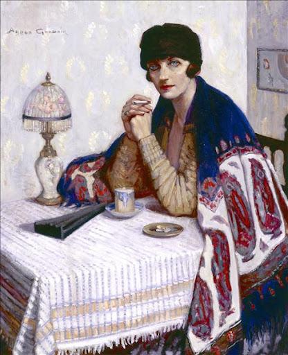 Agnes Goodsir - Girl with Cigarette