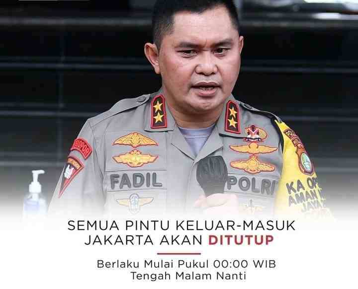 PPKM Darurat, Akses Keluar Masuk Jakarta Ditutup