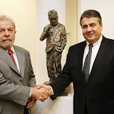 Encontro com Sigmar Gabriel, Presidente do SPD (Alemanha)