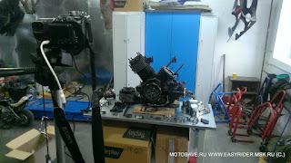 Двигатель Yamaha DragStar XVS 1100