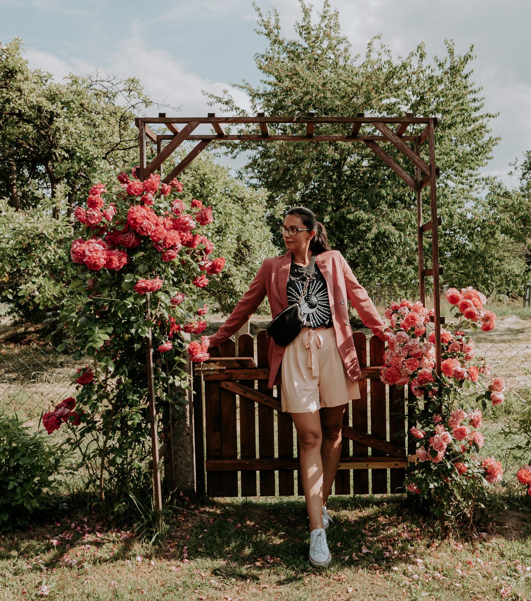 sesja zdjęciowa w różach