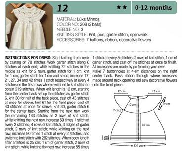Crochet dress 0-12 months 03