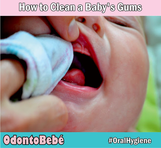 Clean-Baby's-Gums