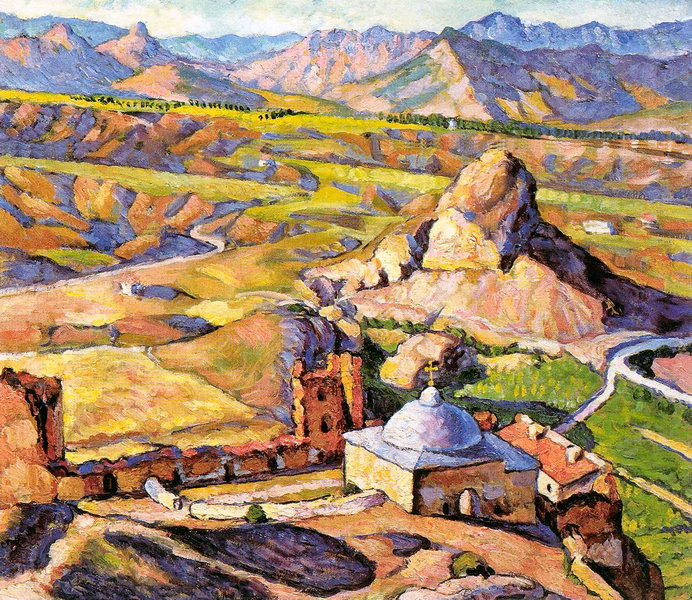 Ilya Mashkov - The View of Genoese Fortress in Sudak