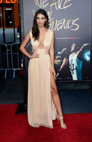 Emily Ratajkowski We Are Your Friends Premiere