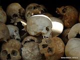 The Killing Fields utanför Pnohm Penh. Här hade dom mycket fuffens för sig när Pol Pot styrde och ställde...