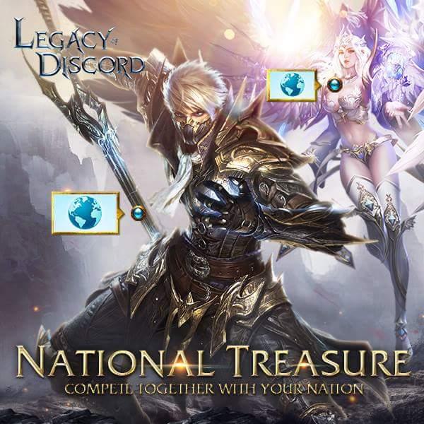 Legacy of Discord National Treasure Güncellemesi