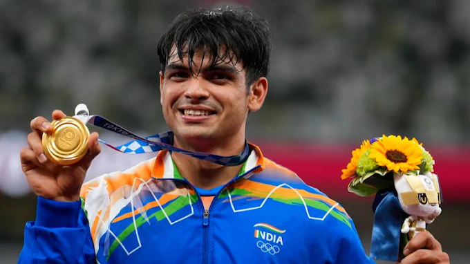 NEERAJ CHOPRA SECURES GOLD IN JAVLIN THROW, INDIA FIRST ATHLETIC GOLD IN OLYMPIC-2020