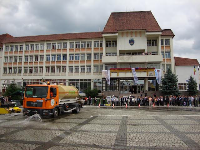 Inaugurarea, la Medias, a primului punct subteran pt. colectarea deseurilor de ambalaje din Romania - DSC06412.JPG