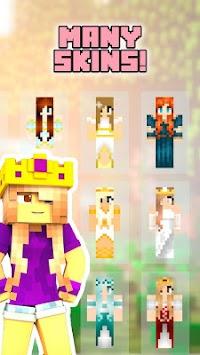 Download Princess Skins For Minecraft By BigFunnyboxy APK Latest - Skins para minecraft pe con alas