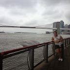 Puerto y brooklyn bridge