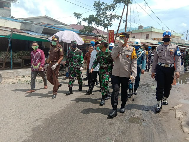 Jelang New Normal, TNI-Polri Kotabaru Gelar Apel Gabungan