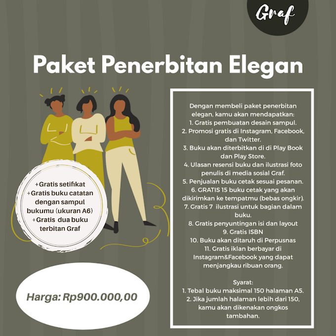 Paket Penerbitan Elegan(Rp650.000,00)