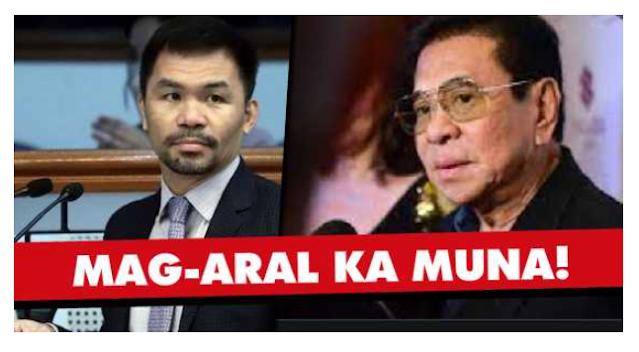 """""""Kung Hindi mo Alam, Wag mo Pasukin!"""" Chavit, Binanatan na rin si Pacquiao!"""