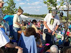 Neighbors enjoy free summer concerts at the river