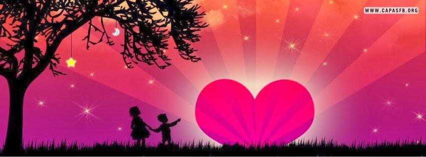 Capas para Facebook Amor