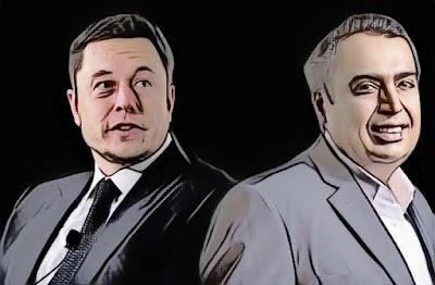 Elon Musk Vs Mukesh Ambani