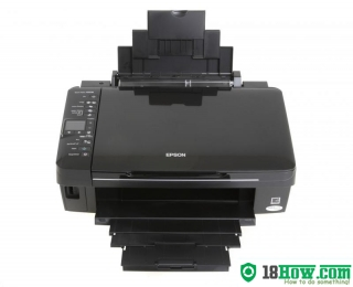 How to Reset Epson SX218 printer – Reset flashing lights problem