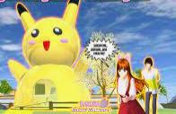 ID Rumah Pikachu Di Sakura School Simulator Dapatkan Disini