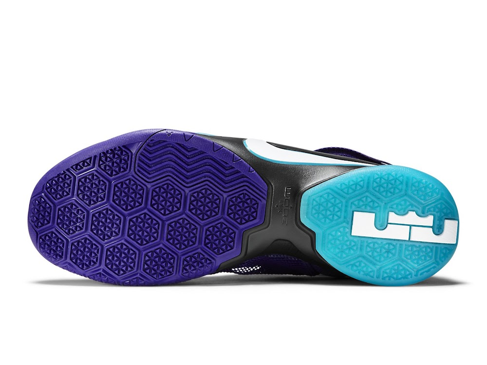 Lebron Soldier 7 Purple And Blue
